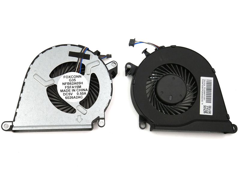 Genuine CPU Cooling Fan for HP Omen 15-AX, Pavilion 15-BC Series Laptop