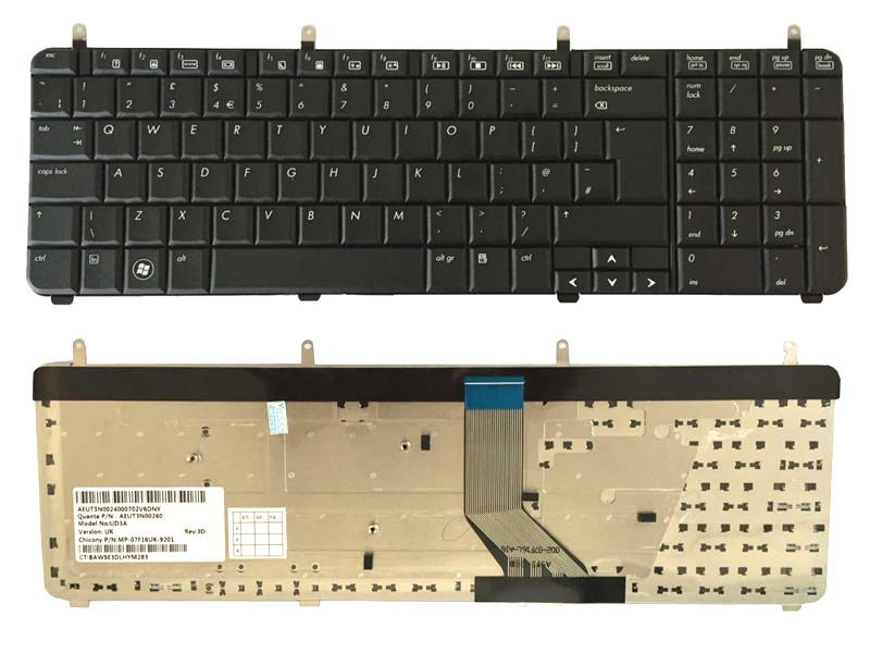 NEW FOR HP pavilion HP DV7-6C90US DV7-6C60US DV7-6B32US DV7-6178US keyboard