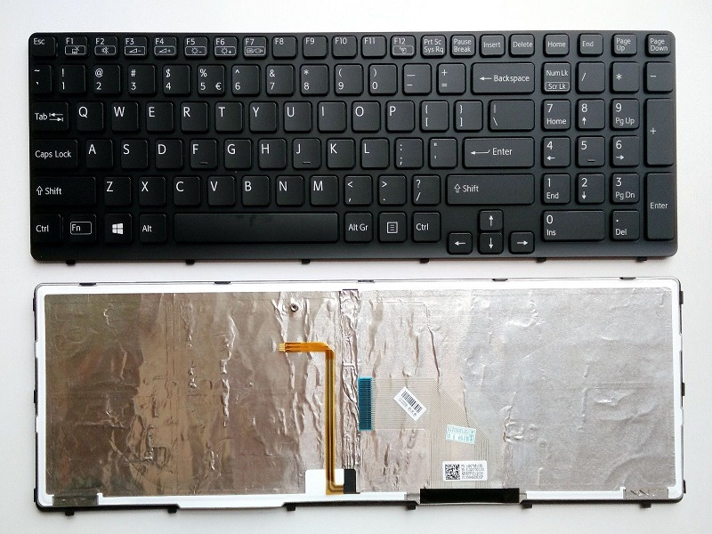 Sony Vaio VPC-CW23FX//W Sony Vaio VPCCW23FX//R Sony Vaio VPC-CW23FX//R Sony Vaio VPCCW23FX//W Keyboards4Laptops French Layout White Laptop Keyboard Compatible with Sony Vaio VPC-CW23FX//P