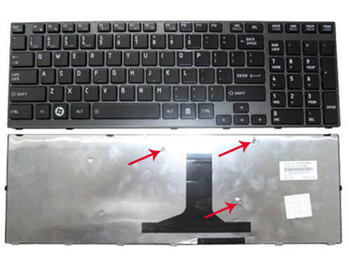 Genuine Backlit Keyboard for Toshiba A660, A660D, A665, A665D Laptop
