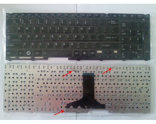 Genuine Keyboard For Toshiba Satellite P750 P755 P750d